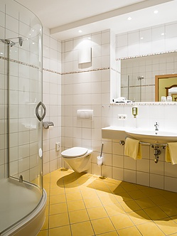 Badezimmer der Unterkunft im Mühlviertel - Hotel Sammer