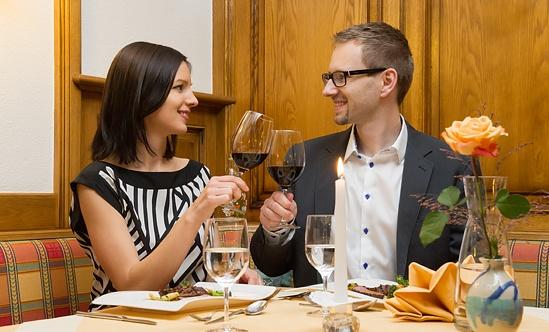 Gäste im Restaurant in Neufelden - Hotel Sammer