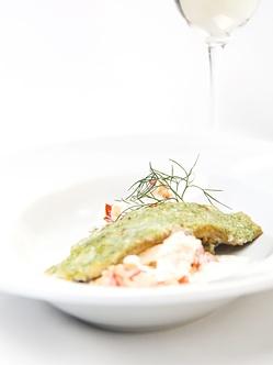Herrliches Gericht des Restaurants im Mühlviertel - Hotel Sammer