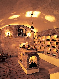 Hauseigener Weinkeller im 4 Sterne Hotel im Böhmerwald - Hotel Sammer