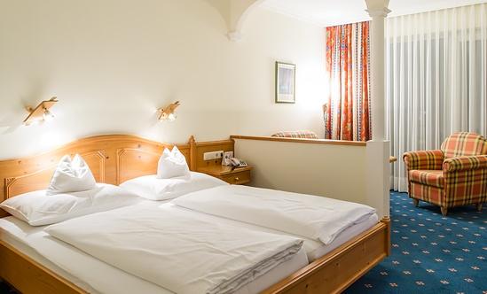 Innensansicht unseres Hotelzimmers in Oberösterreich - Hotel Sammer